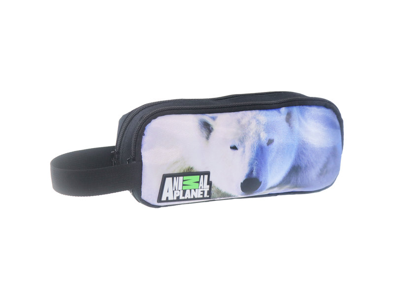 Animal Planet Polar bear - pencil case - 22 cm - Multi