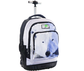 Animal Planet Polar bear backpack trolley 47 x 31 x 20 cm