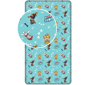 PAW Patrol Fitted sheet Dogs 90x 200 cm