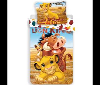 The Lion King Bettbezug Go Wild 140x200 + 70x90cm