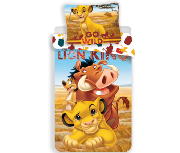 The Lion King Duvet cover Go Wild 140x200 + 70x90cm