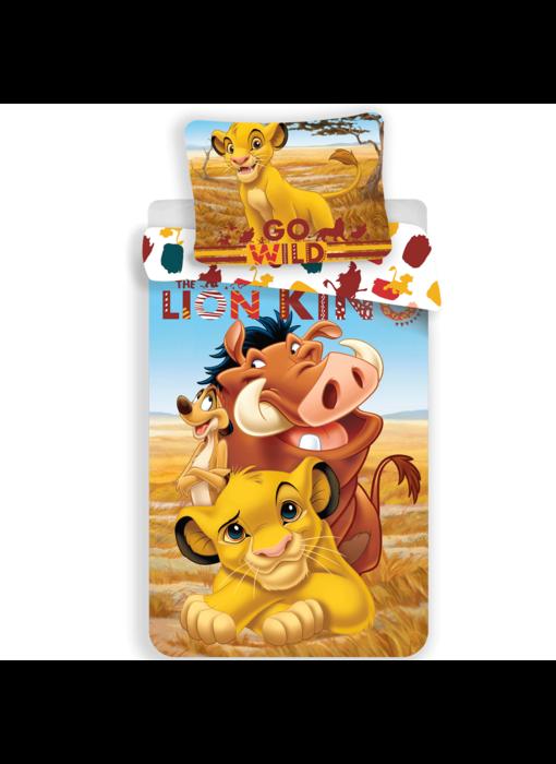 Disney The Lion King Duvet cover Go Wild 140x200 + 70x90cm
