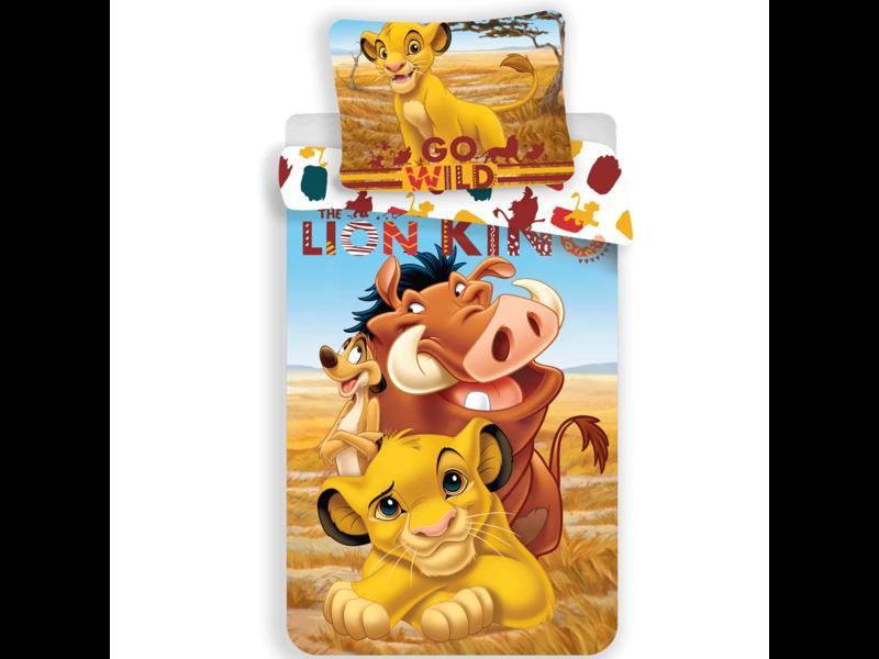 Disney The Lion King Go Wild - Housse de couette - Simple - 140 x 200 cm - Multi