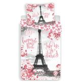Parijs Bettbezug - Single - 140x200 - Rosa