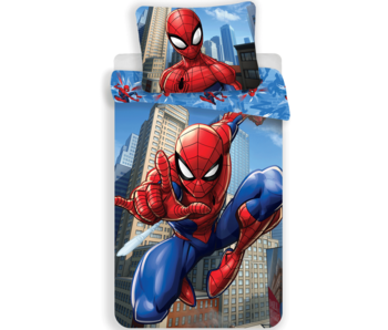 SpiderMan Duvet cover Jump 140x200 + 60x80cm