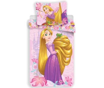 Disney Rapunzel Dekbedovertrek 140x200 + 70x90cm