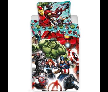 Marvel Avengers Dekbedovertrek Comics 140x200 + 70x90cm