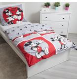 Disney Mickey Mouse & Minnie Mouse Classics - Housse de couette - Simple - 140 x 200 cm