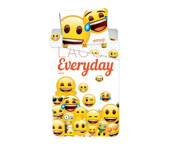 Emoji Housse de couette Laugh Everyday 140x200cm