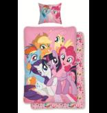 My Little Pony Friends - Bettbezug - Single - 140 x 200 cm - Rosa