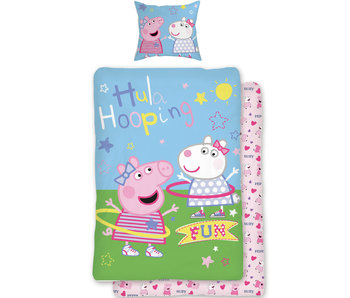 Peppa Pig Duvet cover Fun 140x200 + 70x90cm