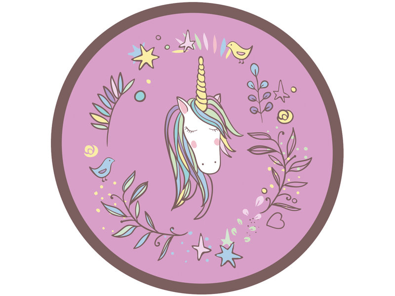 Unicorn Peignoir - Taille 98/104 - Violet