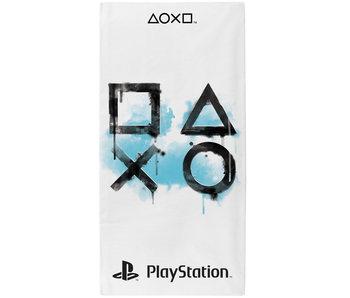 Playstation Beach towel Inkwash 70 x 140 cm