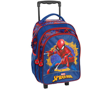 SpiderMan Web Trolley 49 cm