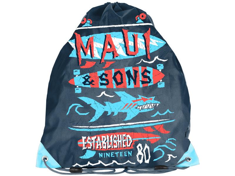 Maui Haai - Gymbag - 38 x 34 cm - Multi