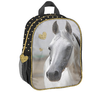 Animal Pictures Toddler / Toddler Backpack White Horse toddler 28 cm