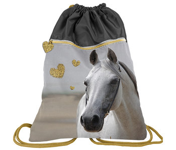 Animal Pictures Gymbag White Horse 45 cm