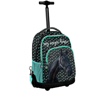 Animal Pictures Black Horse Trolley 44 cm