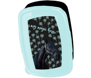 Animal Pictures Lunch box Black Horse
