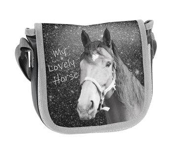 Animal Pictures Lovely Horse Schoudertasje 17 cm