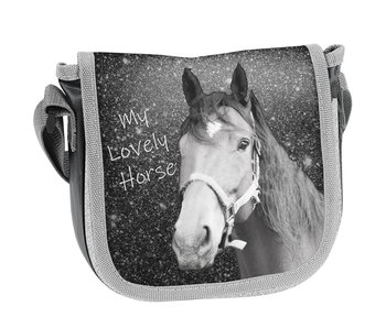 Animal Pictures Lovely Horse Shoulder bag 17 cm