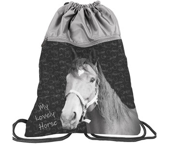 Animal Pictures Lovely Horse gym bag 45 cm