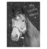 Animal Pictures Lovely Horse - Dagboek - A6 - Inclusief Slotje