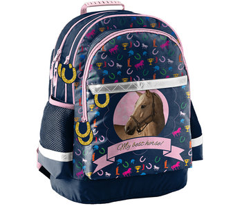 Animal Pictures My Best Horse backpack 42 cm
