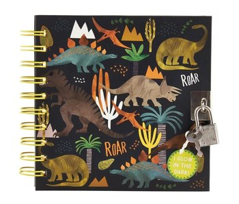 Floss & Rock Dinosaur diary including lock