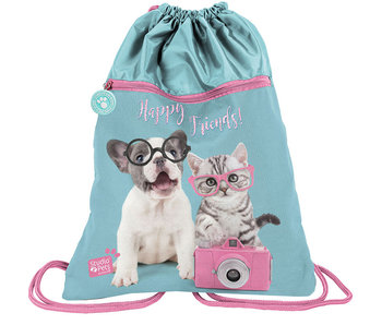 Studio Pets Happy Friends gymbag 45cm