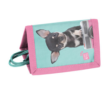 Studio Pets Portefeuille Chihuahua Camera 12cm