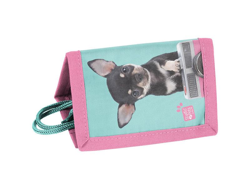 Studio Pets Chihuahua Camera - Portefeuille - 12 x 8,5 cm - Multi