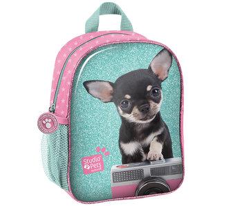 Studio Pets Sac à dos pour enfant en bas âge Chihuahua avec caméra 28 cm