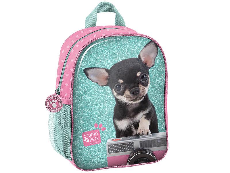Studio Pets Chihuahua Camera - Toddler Backpack - 28 cm - Multi