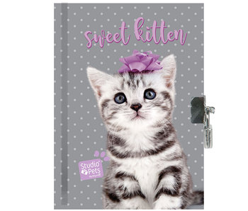 Studio Pets Sweet Kitten Diary 15 x 20 cm including lock