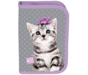 Studio Pets Sweet Kitten Filled pouch 19.5 x 13 cm