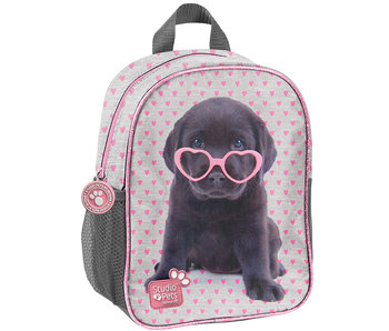 Studio Pets Puppy Glasses Peuter Rugzak 28 cm