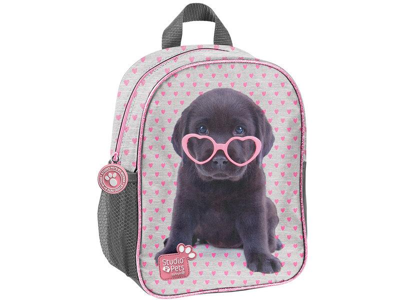 Studio Pets Puppy Glasses - Peuter Rugzak - 28 cm - Multi