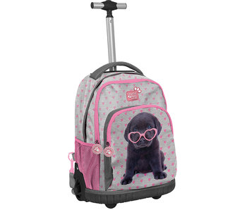 Studio Pets Puppy Glasses Rugzak Trolley 44 cm