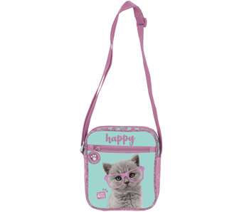 Studio Pets Happy Cat Schoudertas 20 cm