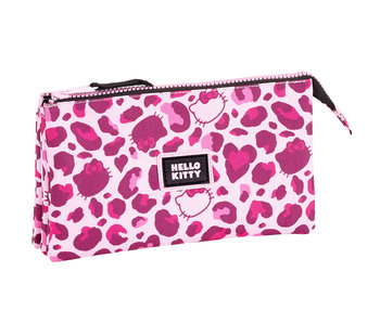 Hello Kitty Leopard pouch  22 cm