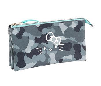 Hello Kitty Trousse camouflage 22 cm