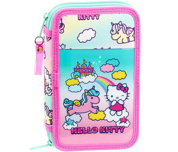 Hello Kitty Unicorn Filled Pouch 20.5 x 13 cm - 28 pieces
