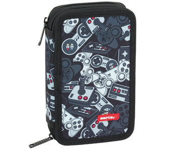 BlackFit8 Gamer Filled Case 20.5 x 13 cm - 28 pieces