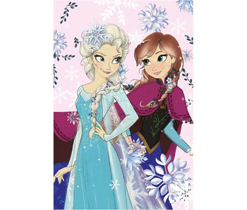 Disney Frozen Polaire plaid Pastel 100x150cm