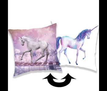 Unicorn Secret Cushion Sequins 40 x 40 cm
