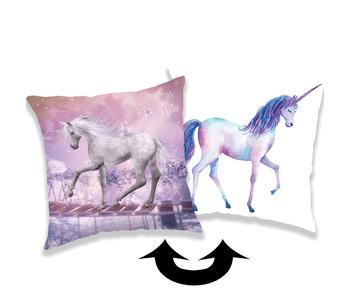 Unicorn Secret Sierkussen Pailletten 40 x 40 cm