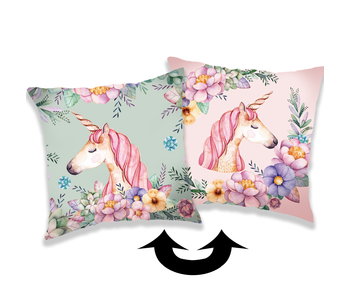 Unicorn Cushion Sequins 40 x 40 cm