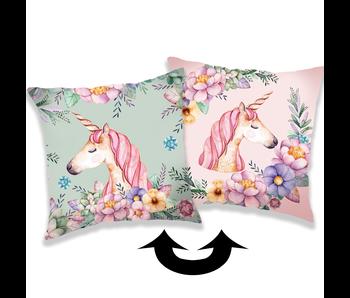 Unicorn Sierkussen Pailletten 40 x 40 cm