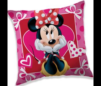 Disney Minnie Mouse Hearts Kissen 40 x 40 cm